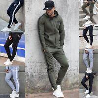 BBH Mens Gym Bottoms Slim Fit Joggers Casual Fleece Jogging Sweatpants
