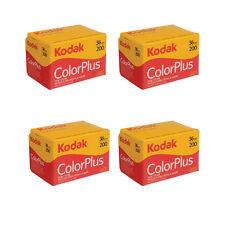 4 Rolls Kodak ColorPlus 200 ASA 135-36 Exp. 35mm Color Plus Film, US SELLER