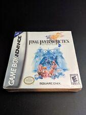 Final Fantasy Tactics Advance Nintendo Gameboy Advance Nuovo Sigillato