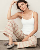 Garnet Hill - Women's XS - Geo Tree Triangle Pima Flannel Pajama/Sleep Pants