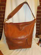 WOW~ Dooney & Bourke Fielding Florentine Large Hobo Handbag Natural