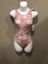 Nwts Childs Large 12-14 Double Sp Strap Destira Tank Leotard New Price