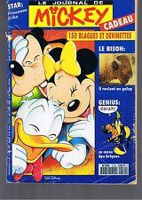 journal De MICKEY n° 2130 14 avril 1993 revue magazine donald génius popop déblo