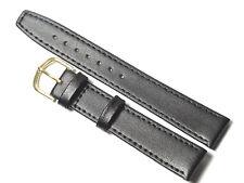 Uhrenarmband 18mm.XXL.Eichmüller.Kalbsleder,Schwarz
