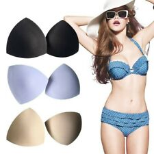 3 Pairs Detachable Soft Bra Pads Breast Inserts Pads Bra Cups Pads for Swimsuit