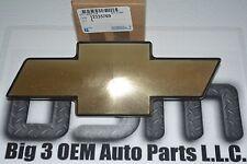 2003-2006 Chevrolet Silverado SS Gold W/ Black Trim BOW TIE EMBLEM new OEM