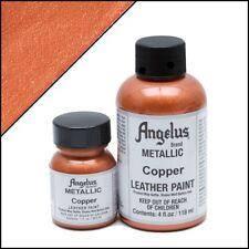 Angelus Metallic Copper acrylic leather paint 1 oz.