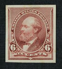 CKStamps: US Stamps Collection Scott#224P4 6c Unused H NG Card Proof