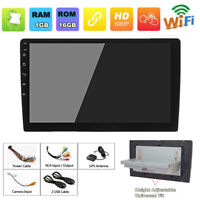 """9"""" 1DIN Android 8.1 Adjustable Car Stereo Radio GPS Wifi BT DAB Quad-core 1+16G"""