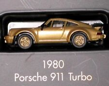 HERPA 1:87 Porsche 911 Turbo 1980 Or Série Modèle Top