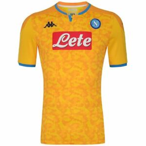 Kappa T-shirt sport Active Jersey Man KOMBAT PRO 2020 EURO NAPOLI Soccer sport