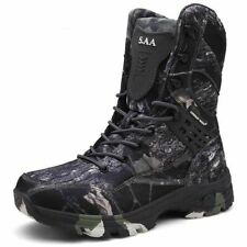 Waterproof Tactical Military Boots Desert Hiking Camouflage High-top Work shoes