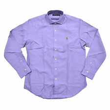 Polo Ralph Lauren Mens Woven Shirt Twill Estate Button Up Long Sleeves Pony New