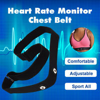 Heart Rate Monitor Sensor Strap Chest Belt for Polar Wahoo Garmin Sport  Soft  !