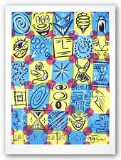 ART PRINT Faces Kenny Scharf