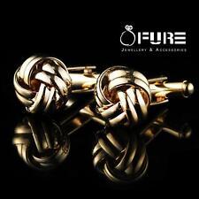 Men's Stainless Steel Vintage Cufflinks Silver Laser Twist  Wedding Cuff Links