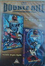 DOUBLE BILL DVD The Secret of Quan Chi & Kombat Begins Again New & Sealed P.G.