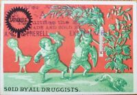 Quack Drug 'Sapanule Glycerine Lotion' 1890 Victorian Trade Card - Exeter, NH