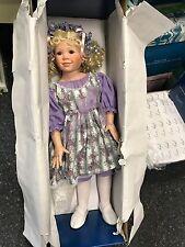 Jeanne Singer Porzellan Puppe 82 cm. Top Zustand