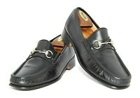 Mens Gucci Horsebit Loafers 1100009 Shoes Black UK 9 US 9.5  Eu 43