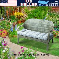 Garden Bench Cushion Outdoor Patio Seat Pad Chair Yard Swing Mat Home Furniture