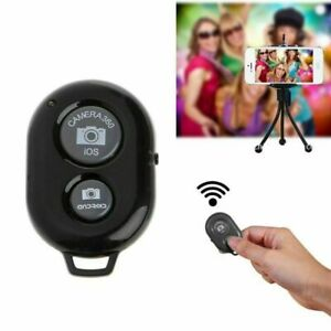 Wireless Bluetooth Camera Shutter Remote Control for Android iPhone with Battery