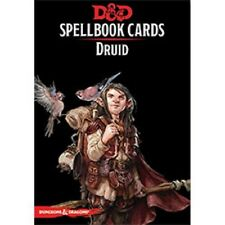 Dungeons & Dragons D&D 5E 5th Edition Spellbook Cards: Druid (New)