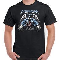 Venom Gym T-Shirt Mens Training Top MMA Martial Arts Weightlifting Bodybuilding