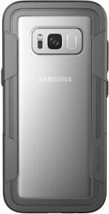 Pelican Voyager Case-Military Grade Protection for Samsung Galaxy S8 Clear/Grey