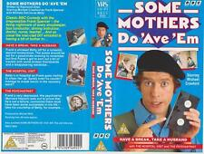 Some Mothers Do 'Ave 'Em (1973) VHS VIDEO Michael Crawford 3 EPISODES Frank BBC