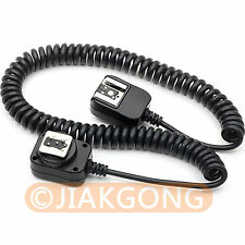 DSLRKIT 3 m I-TTL Off Camera FLASH sync Cable Cord for Nikon d7000 d5200 SB 910