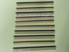 lot de 30 Barrette droite  2x3 points pas 2.54mm AMP