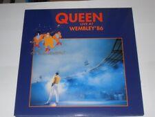 QUEEN Live at Wembley 86 (VINYL LP) 2 LP phasedepleinecapacitéopérationnelle Comme neuf Freddy M