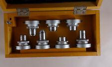 Microscope Part Lomo Zeiss Lens Set 7 Pcs New Old Stock