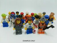 LEGO - X3 MINIFIGURE PACK - HUGE VARIETY NO DOUBLES! - CITY COPS FIREMEN ETC: