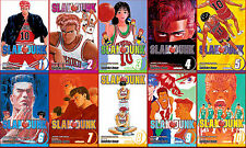 Slam Dunk Series MANGA by Takehiko Inoue Collection Volumes 1-10!