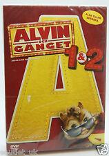 Alvin e i Chipmunks 1 e 2 COFANETTO DVD REGION 2 NUOVISSIMO