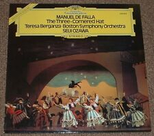DG 2530 823 DE FALLA the three cornered hat BERGANZA,OZAWA 1977 UK STEREO LP