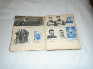 1930  ERA  SPEEDWAY  STARS  SCRAPBOOK  180  +CLIPPINGS    AND  CIGARETTE  CARDS