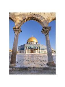 The Al-Aqsa Mosque in Jerusalem Israel Art Wall Decor Print 4 60x80cm