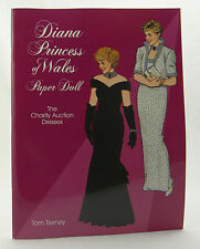 PRINCESS DIANA OF WALES PAPER DOLL BOOK (Tom Tierney) ~ 1 Doll 31 Costumes ~ NEW