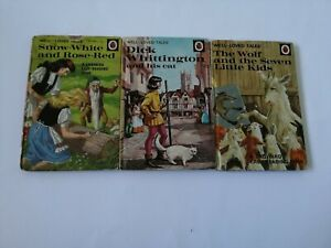 Vintage Ladybird Books Well Loved Tales x3