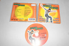 CD Compilation Dance Attack 18.Tracks 1997 Red 5 DJ Bobo DJ Dado Scooter ...