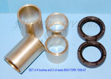 BSA B31 A7 A10 B44 A65 M20 Fork bush & seal KIT 65-5424 29-5347 29-5313 gabelset