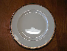 Lenox USA Presidential Coll MONROE Dinner Plate 10 5/8 1 ea Black Gold design