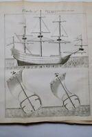Marine De La Mâture Des Vaisseaux 1727-1728