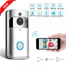 Smart WiFi Doorbell Wireless IR Video Camera Intercom Record Home Security Bell