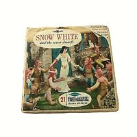 1964 Sawyer's Viewmaster B 300 Walt Disney's Snow White and the Seven Dwarfs 130