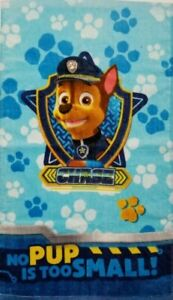 Nickelodeon Paw Patrol Rescue Crew Hand Towel 15 x 26 With Chase Brand New