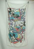 Vintage Franco Mickey Mouse Surf Side Beach Towel 53 x 28